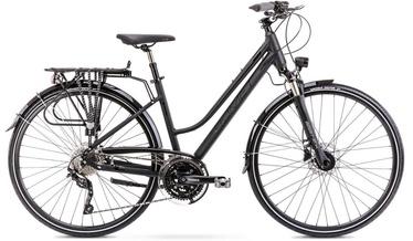 "Jalgratas Romet Gazela 9 2128369, must, 20"", 28"""