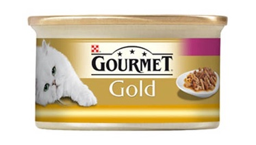 Purina Gourmet Gold with Turkey and Duck 85g