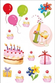 Herlitz Stickers Birthday