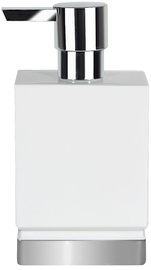 Spirella Soap Dispenser Roma Clay White/Silver