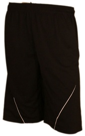 Bars Mens Football Shorts Black 186 L