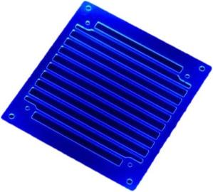 AC Ryan RadGrillz 1x120mm Acryl UV Blue