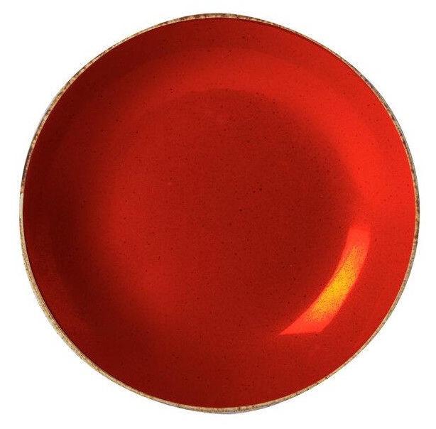 Porland Seasons Cous Cous Plate D26cm Red
