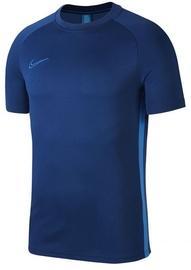 Nike Men's T-shirt Academy SS Top AJ9996 407 Navy Blue 2XL