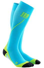 CEP Men's Run Socks 2.0 Hawaii Blue/Green 3