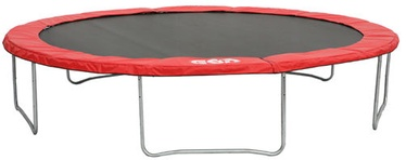 Batuut GSD Trampoline 4.25 Black/Red