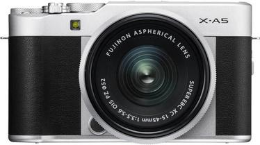 Fujifilm X-A5 Mirrorless Camera + 15-45mm Lens Silver/Black