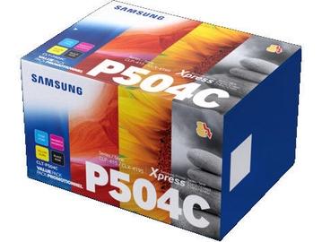 Samsung CLT-P504C Toner Cartridge 4-Pack