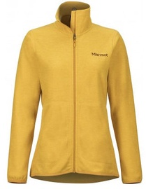 Marmot Womens Fleece Jacket Pisgah Yellow Gold L