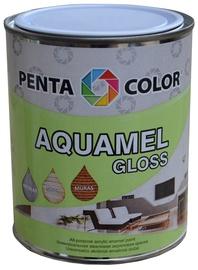 Pentacolor Aquamel Gloss Emulsion Paint Ivory 0.7kg