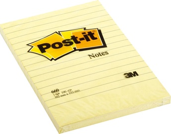 3M Post-it Sticky Notes Yellow 100pcs With Lines