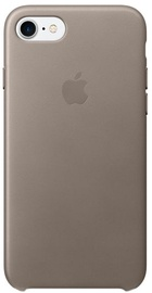 Apple Leather Back Case For Apple iPhone 7/8 Taupe