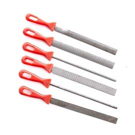 Viilide ja rasplite komplekt metall/puit BF1715-1, 6 tk