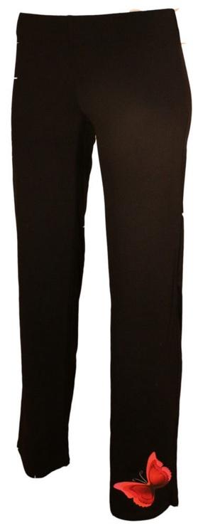 Bars Womens Trousers Black 142 L