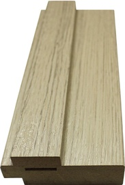 Omic Door Frame Bleached Oak 80x33x2024mm 2.5pcs