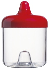 ViceVersa Round Canister 0.75L Red