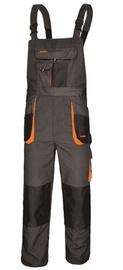 Art.Master Classic Working Bib Pants Grey/Orange 52