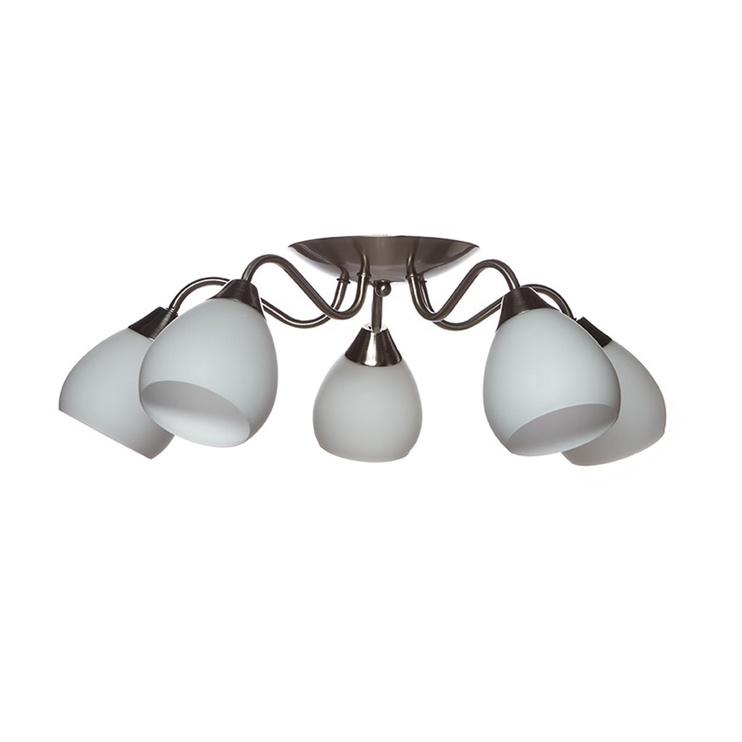 Futura MX90403/5 E27 5x60W White/Silver