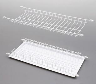 Rejs Dish Dryer Rack White 768x275mm