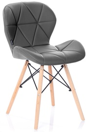 Стул для столовой Homede Silla Eco Leather Graphite, 4 шт.