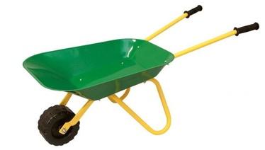 Woody Metal Garden Wheelbarrow 91455