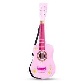 New Classic Toys First Melodies Guitar With Flowers Pink 10348