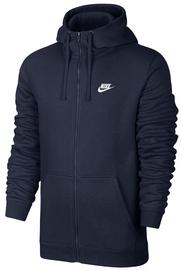 Nike Club Full Zip Hoodie 804389 451 Navy M