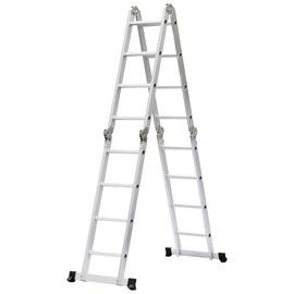 HausHalt BL-404B Universal 4x4-Steps Ladders