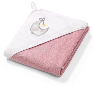 BabyOno Terry Hooded Towel 100x100cm Pink