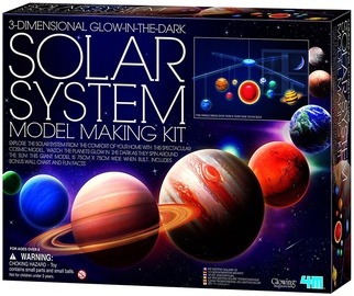4M 3D Glow In The Dark Solar System Model Making Kit 5520