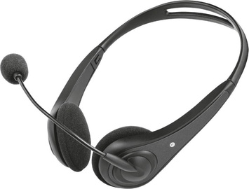 Trust InSonic Chat Headset Black