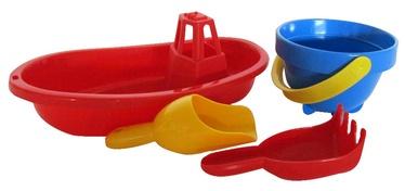Набор игрушек для песочницы Plasto 1479P, 4 шт.
