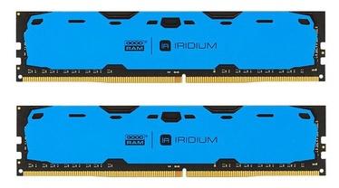 Operatiivmälu (RAM) Goodram IRIDIUM Blue IR-B2400D464L15S/16GDC DDR4 16 GB
