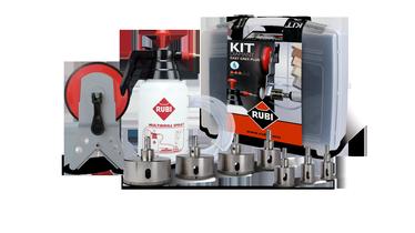 Rubi EasyGres Diamond Plus Drills Bit Kit 50937
