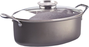 Pensofal Oval Casserole Saucepan With Inox Side Handles/Glass Lid 5521