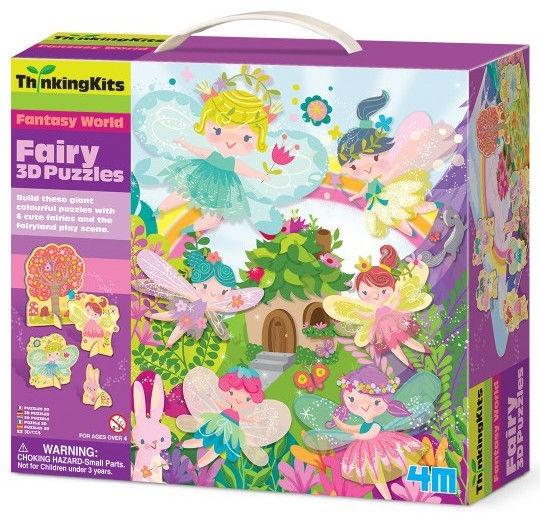3D-pusle 4M Thinking Kits Fairy 4717, 15 tk
