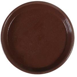 Home4you SIAM Saucer 28cm Brown Teak