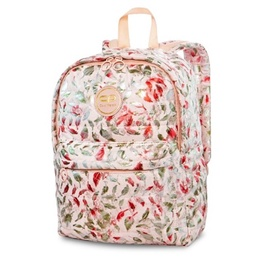 CoolPack Backpack Ruby Feathers Pink