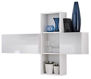 ASM Blox SB I Hanging Cabinet Set White