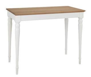 Baarilaud MN 8005-08-3 White/Oak, 1220x650x930 mm