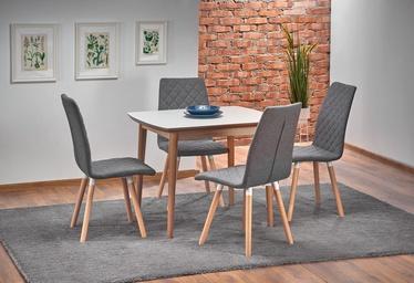 Halmar Extension Table Barret White Matt/Oak