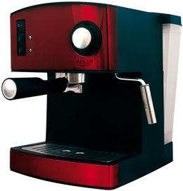 Kohvimasin Adler AD 4404 Red