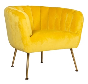Tugitool Home4you Tucker Yellow, 78x71x69 cm