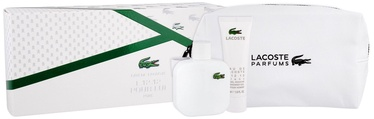 Lacoste Eau De Lacoste L.12.12 Blanc 100ml EDT + 50ml Shower Gel + Bag