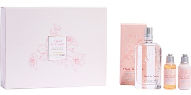 L´occitane Fleurs de Cerisier 75ml EDT + 35ml Shower Gel + 35ml Body Milk