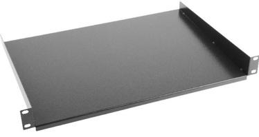 Lanberg Fixed Shelf 19'' 1U 483x315mm Black