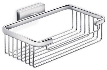Inda Lea Bathroom Shelf 20cm Chrome