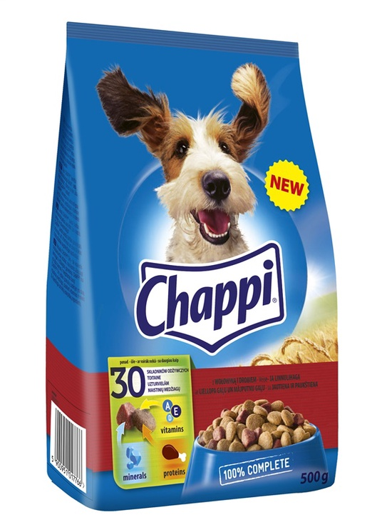 Chappi Complete Food Beef/Poultry 500g