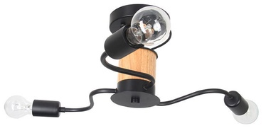 Verners Astrida Ceiling Lamp 3x60W E27 Black