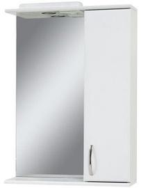 Vannitoakapp Sanservis Z-50 Standart with Mirror White 50x86.5x17cm